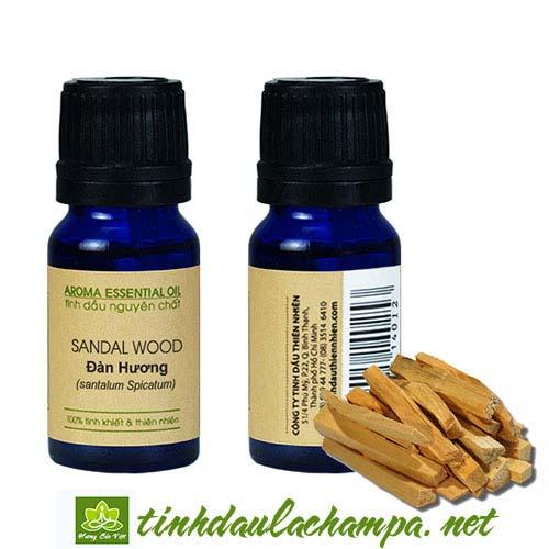 Tinh dầu gỗ Đàn Hương - top tinh dầu tập thiền tốt nhất