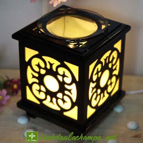 Đèn xông tinh dầu gỗ TN19