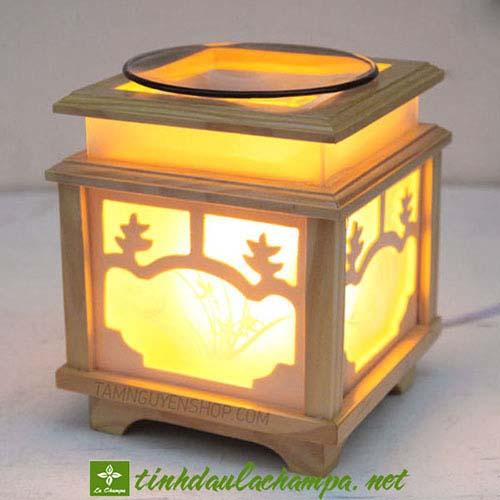 Đèn xông tinh dầu gỗ TN18