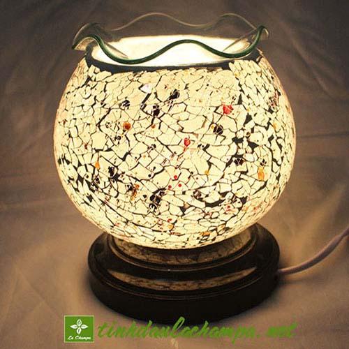 đèn tinh dầu pha lê