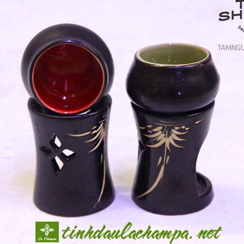 Đèn xông tinh dầu nến TN06