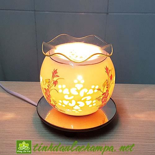 Đèn tinh dầu gốm mini TN33