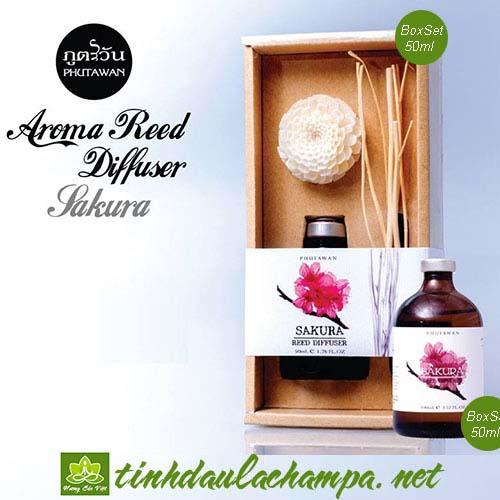 Tinh dầu cắm que hoa Anh Đào Sakura