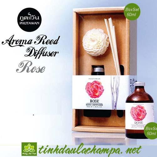 Tinh dầu hương hoa Hồng