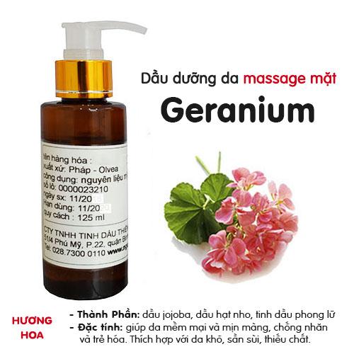 Dầu massage mặt Phong Lữ