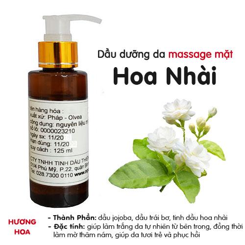 Dầu massage mặt hoa Nhài