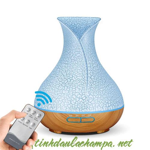 Máy khuếch tán Tulip trứng 500ml giá rẻ có remote FX034-TW
