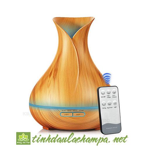 Máy khuếch tán tinh dầu Tulip giá rẻ có remote điều khiển từ xa
