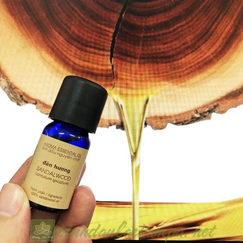 Tinh dầu gỗ Đàn hương Lachampa - Sadalwood essential oil