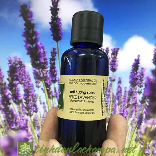 Tinh dầu hoa Oải hương Lachampa nguyên chất - spike lavender
