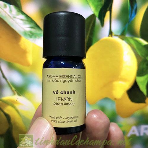 Tinh dầu Chanh vàng Lemon La champa nguyên chất 10ml