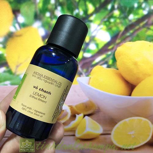Tinh dầu Chanh vàng Lemon La champa nguyên chất 30ml