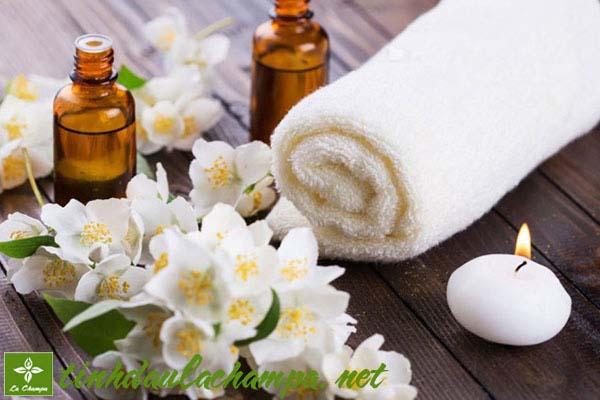 Công dụng của tinh dầu hoa lài, hoa nhài