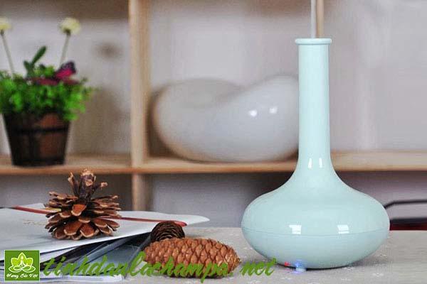 Máy khuếch tán tinh dầu bình hoa mini | tinh dầu Hương Sắc Việt