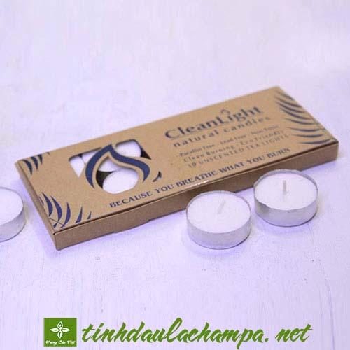 Nến đốt tinh dầu - Nến Tealight không mùi không khói chất lượng cao