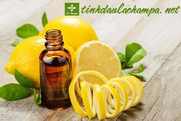 Sử dụng tinh dầu Chanh để khỏe hơn mỗi ngày