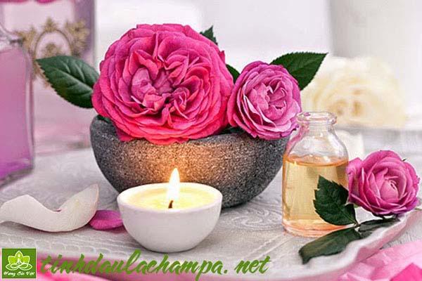 TInh dầu Hoa hồng Damask - Damascus rose essential oil