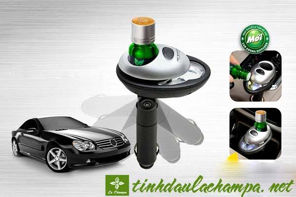 Những loại tinh dầu dùng để khử mùi cho ô tô