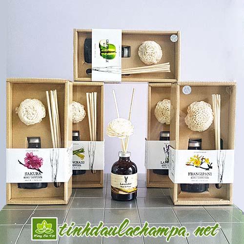 Tinh dầu cắm que gỗ Phutawan Thái lan - shop Hương Sắc Việt
