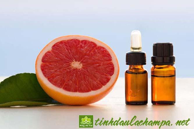 Các công dụng của tinh dầu Bưởi hồng Grapefruit - shop Hương Sắc Việt