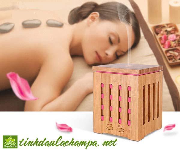 6 loại tinh dầu xông phòng ngủ giúp thư giãn, ngủ ngon