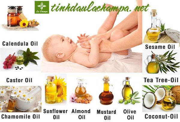 Top 10 loại dầu massage da cho bé tốt nhất