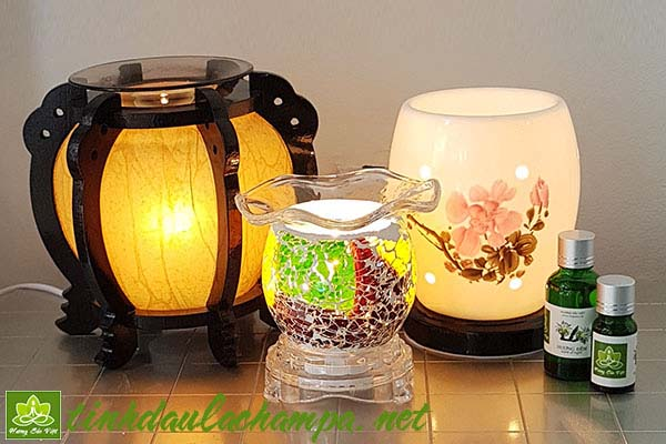 Sự khác biệt giữa đèn xông tinh dầu điện cỡ lớn và cỡ nhỏ