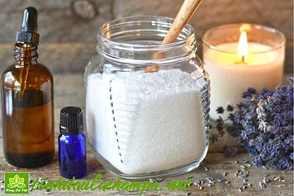 Cách tự làm muối tắm tinh dầu tại nhà đơn giản, dễ thực hiện